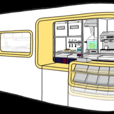 on-board restaurant sketch 1