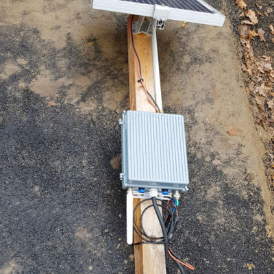 Cloud-based concrete monitoring – Gateway on ground